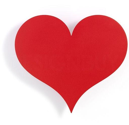 Výroba papírového srdce