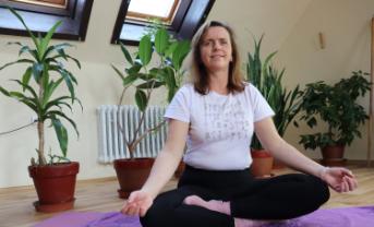 Online jóga s Vlastou Bičišťovou