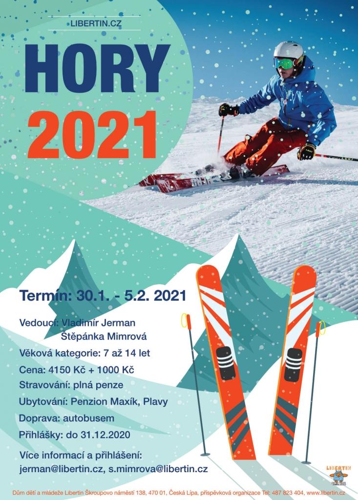 Jarní prázdniny s Libertinem - Hory 2021