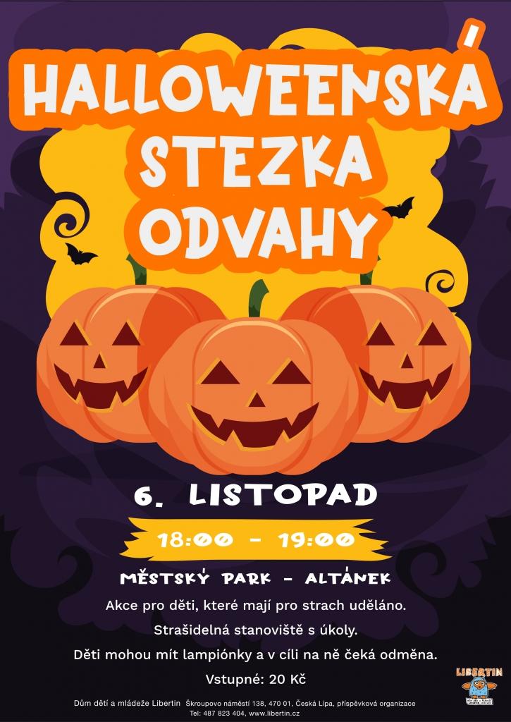 Halloweenská stezka odvahy