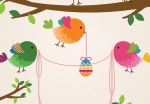 Vytvořte si velikonočního ptáčka