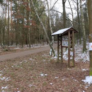 Dobrodružná cesta na Hubertově naučné stezce
