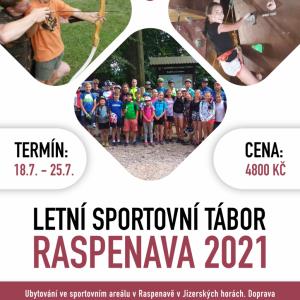 LT Sportovní Raspenava 2021