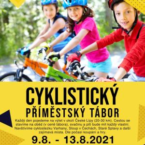 Letní cyklistický příměstský tábor