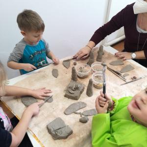Keramika pro MŠ - MŠ Krteček