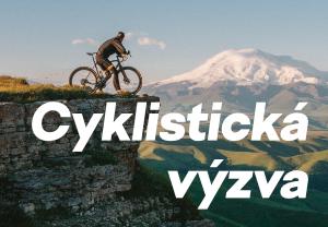 Cyklistická výzva - první účastník je v cíli