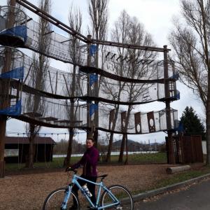 Cyklistická výzva - Anička L.