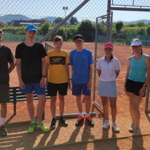 Tenis - mistrovské zápasy