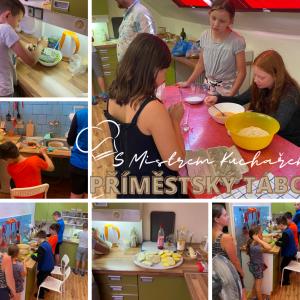 Příměstský tábor Vaření s mistrem kuchařem