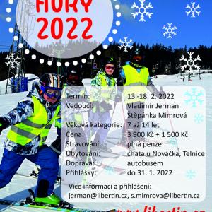 Jarní prázdniny s Libertinem - Hory 2022