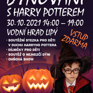 Halloweenské dýňování s Harry Potterem